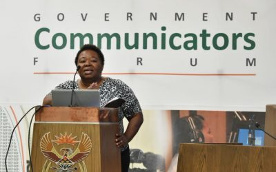 GOVERNMENT COMMUNICATORS NEED SAVING FROM ANC POLITRICKS